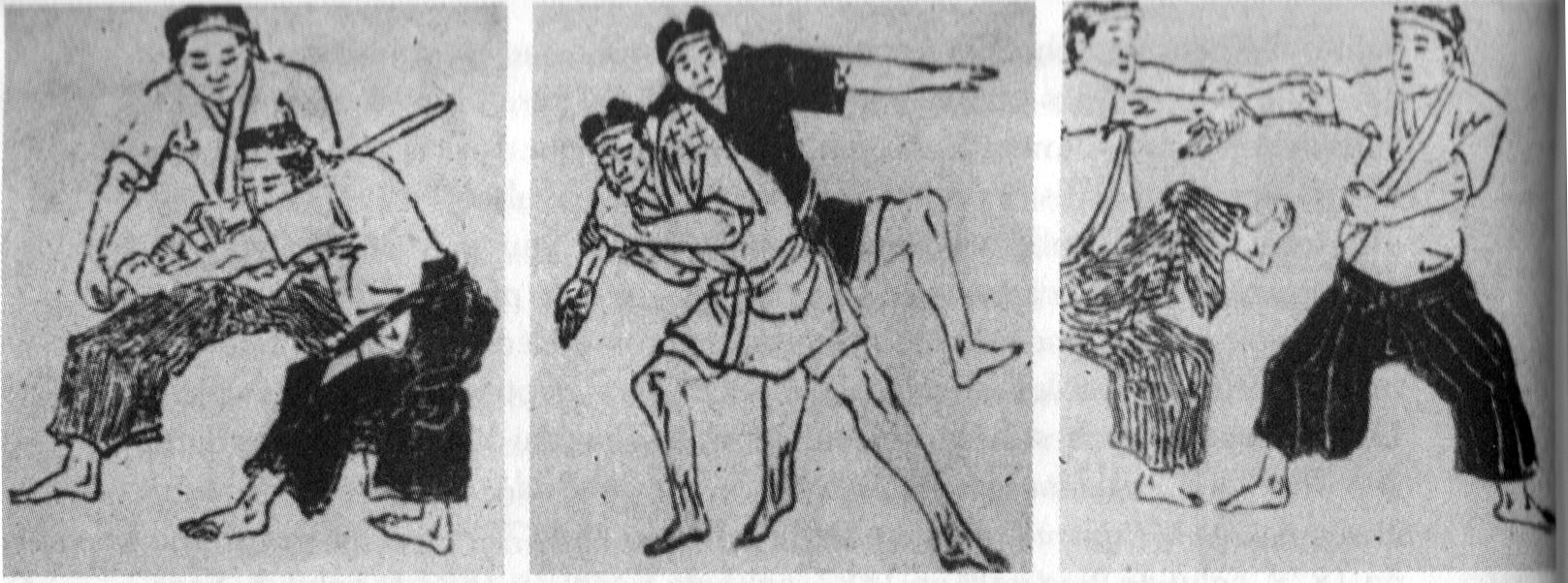 Anciennes prises jujitsu