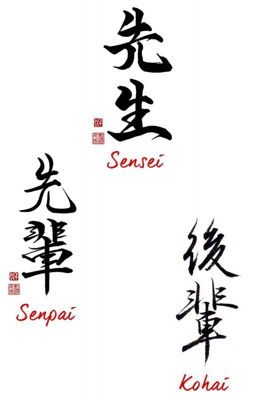 Sensei senpai kohai web